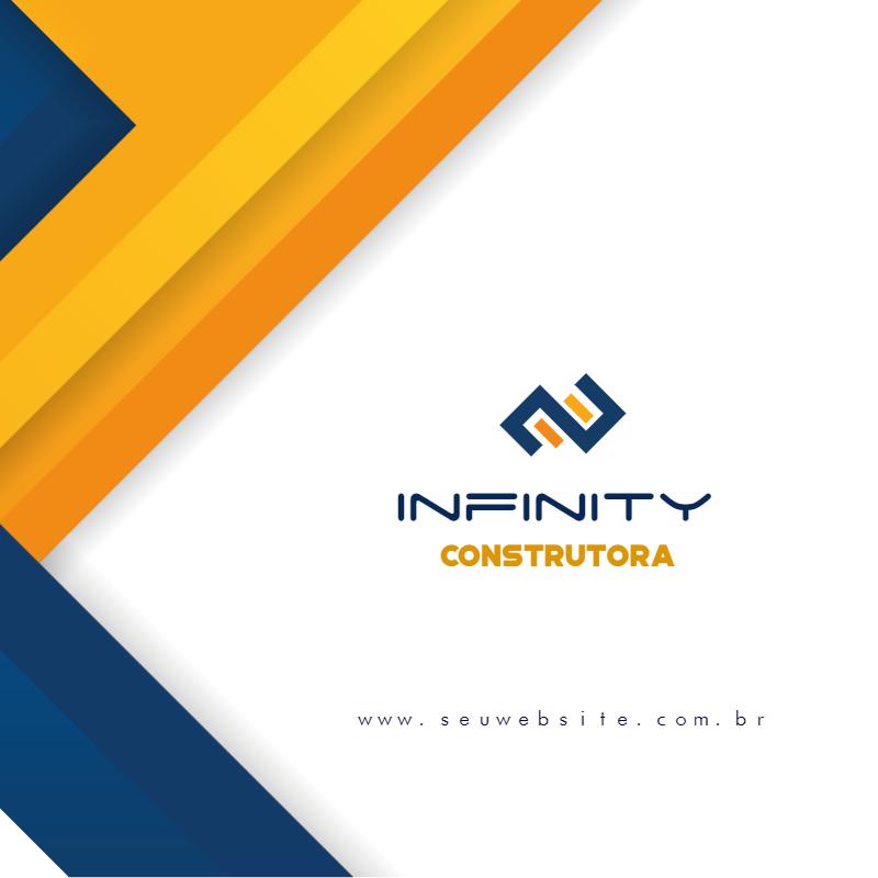 Cartão Visita, construção, construtora, imobiliária, imoveis, azul, verde, empreiteira, online, digital, personalizado, whatsapp