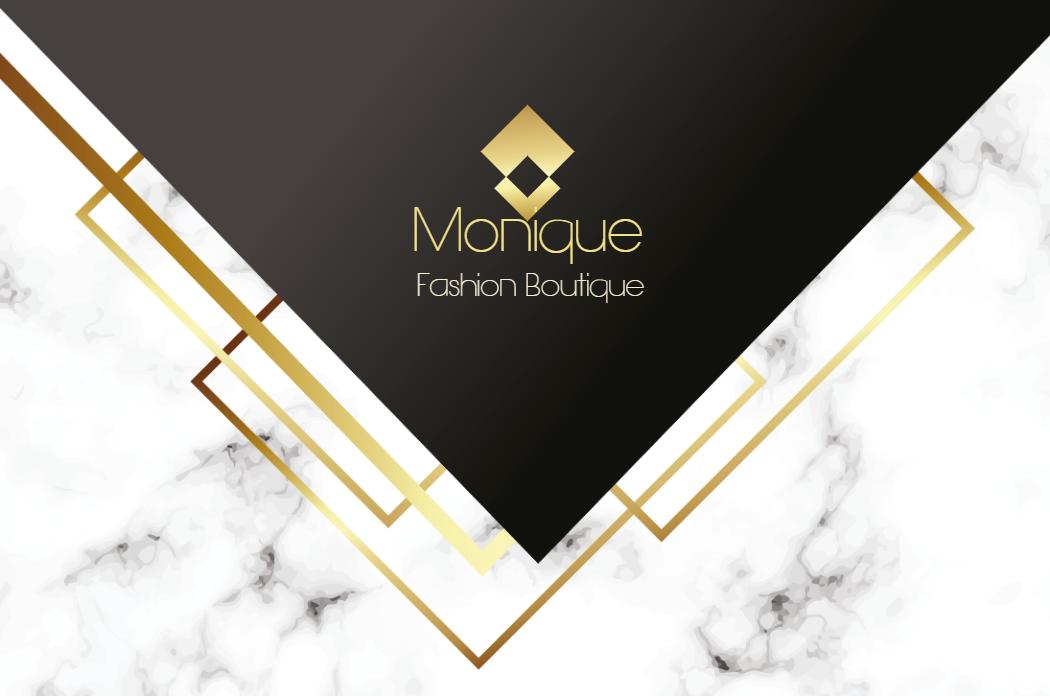 Cartão Frente Elegante, visita, boutique, loja, roupas, feminina, mulheres, elegante, mármore, dourado, preto, delicado, moderno, propagando, divulgação, logo, logomarca