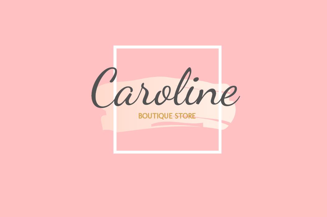 Cartão Frente Boutique, visita, feminino, moda, roupa, joalheria, cosmético, loja, comércio, rosa, delicado, logo, comemoração, celebração, online, digital, personalizado, whatsapp